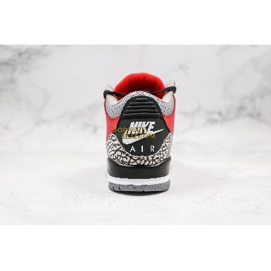 "new replicas Air Jordan 3 Retro SE ""Unite"" CK5692-600 Mens fire red/fire red/cement grey/black Shoes"