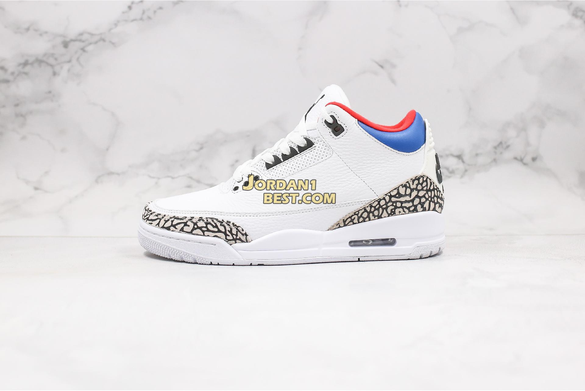 "Air Jordan 3 Retro ""Seoul"" AV8370-100 Mens"