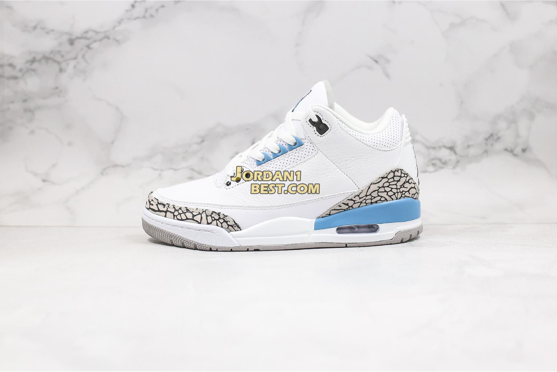 "Air Jordan 3 Retro ""UNC"" CT8532-104 Mens"