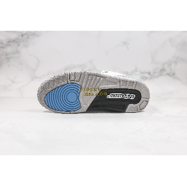 "fake Air Jordan 3 Retro ""UNC"" CT8532-104 Mens white/valor blue/tech grey Shoes"