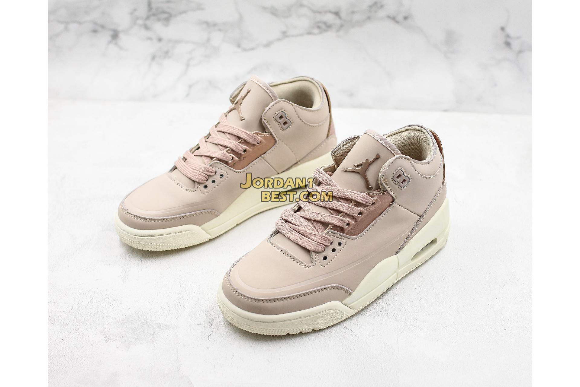 "Air Jordan 3 SE ""Particle Beige"" AH7859-205 Womens"