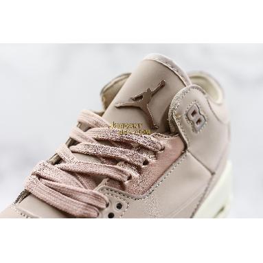 "best replicas Air Jordan 3 SE ""Particle Beige"" AH7859-205 Womens particle beige/metallic red bronze-sail Shoes"