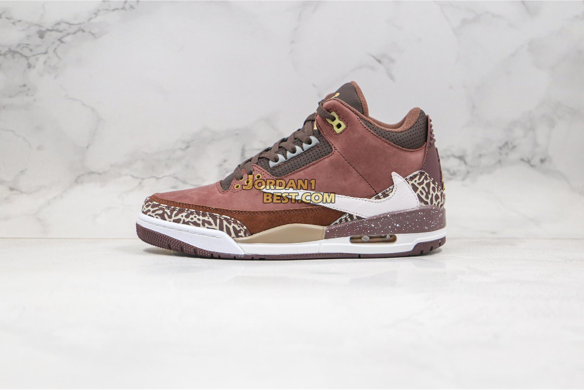 "Air Jordan 3 Retro ""Antique Brass"" 626988-018 Mens"