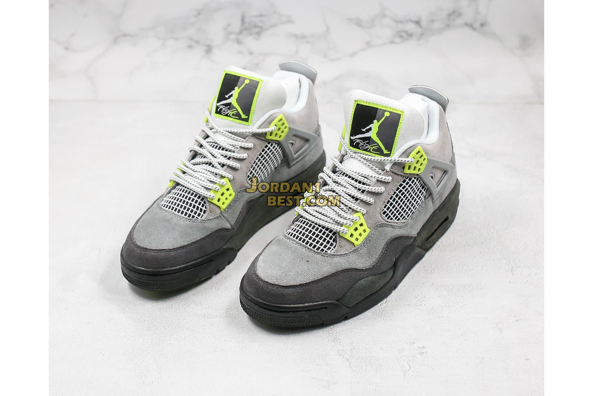 "Air Jordan 4 Retro SE ""Neon 95"" CT5342-007 Mens"