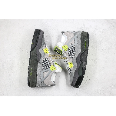 "top 3 fake Air Jordan 4 Retro SE ""Neon 95"" CT5342-007 Mens cool grey/volt-wolf grey-anthracite Shoes"