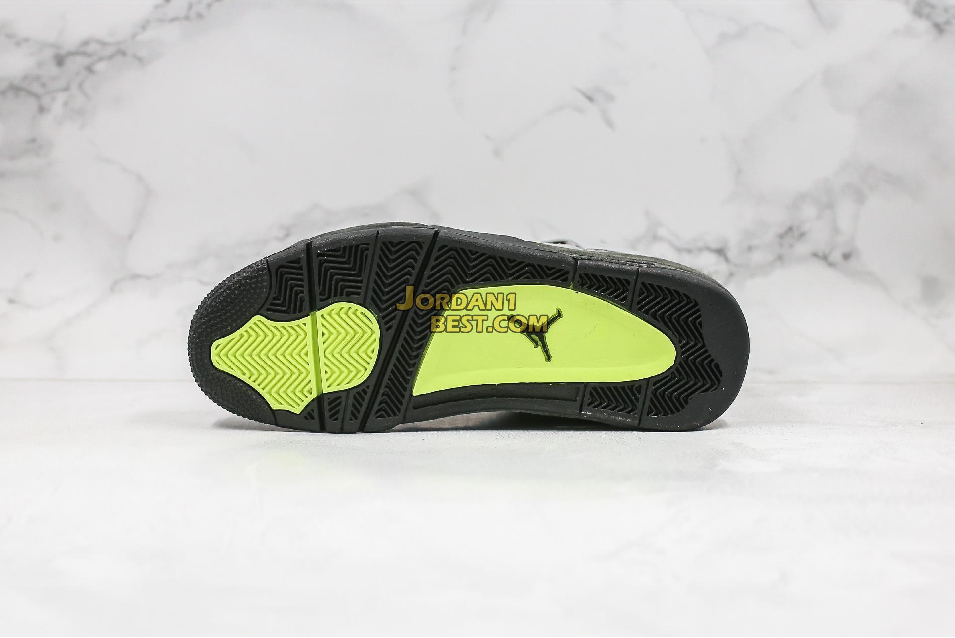 """Air Jordan 4 Retro SE """"Neon 95"""" CT5342-007 Mens"""