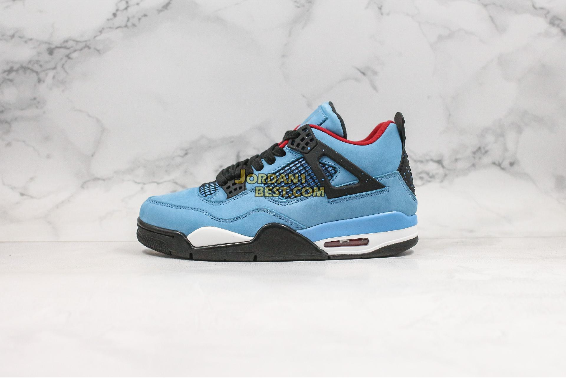 "Travis Scott x Air Jordan 4 Retro ""Cactus Jack"" 308497-406 Mens"