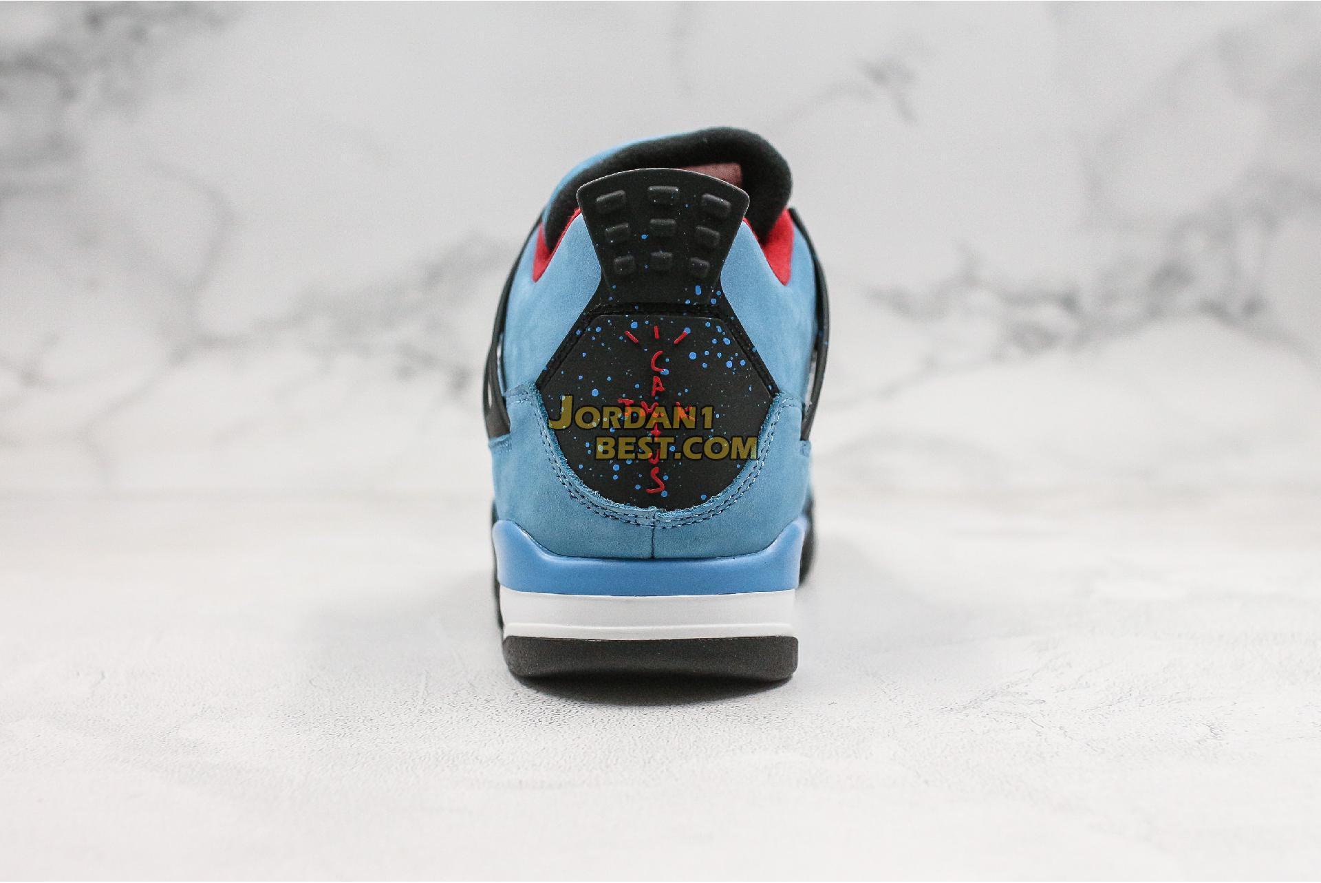 """Travis Scott x Air Jordan 4 Retro """"Cactus Jack"""" 308497-406 Mens"""