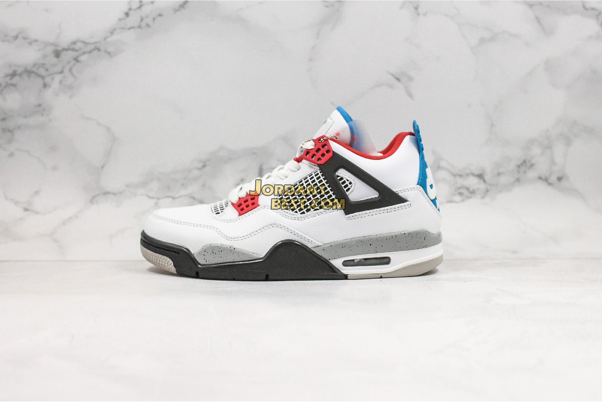 "Air Jordan 4 Retro SE ""What The 4"" CI1184-146 Mens"