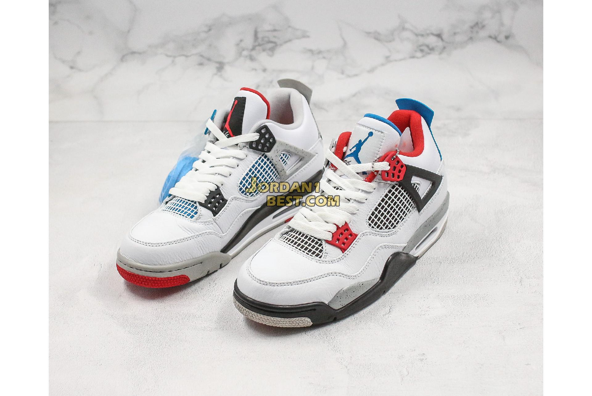 "Air Jordan 4 Retro SE ""What The 4"" CI1184-146 Mens"