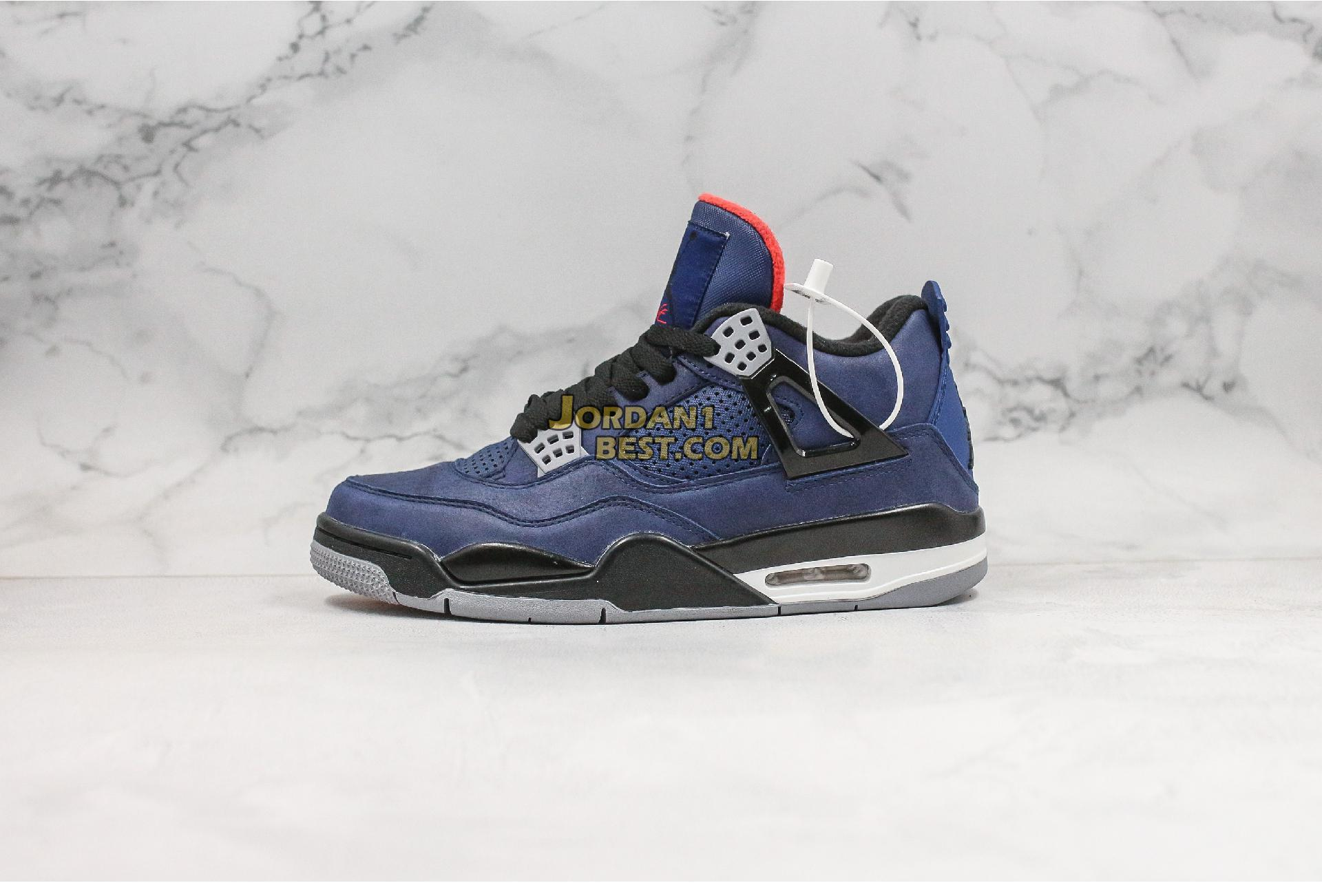 "Air Jordan 4 Winter ""Loyal Blue"" CQ9597-401 Mens"