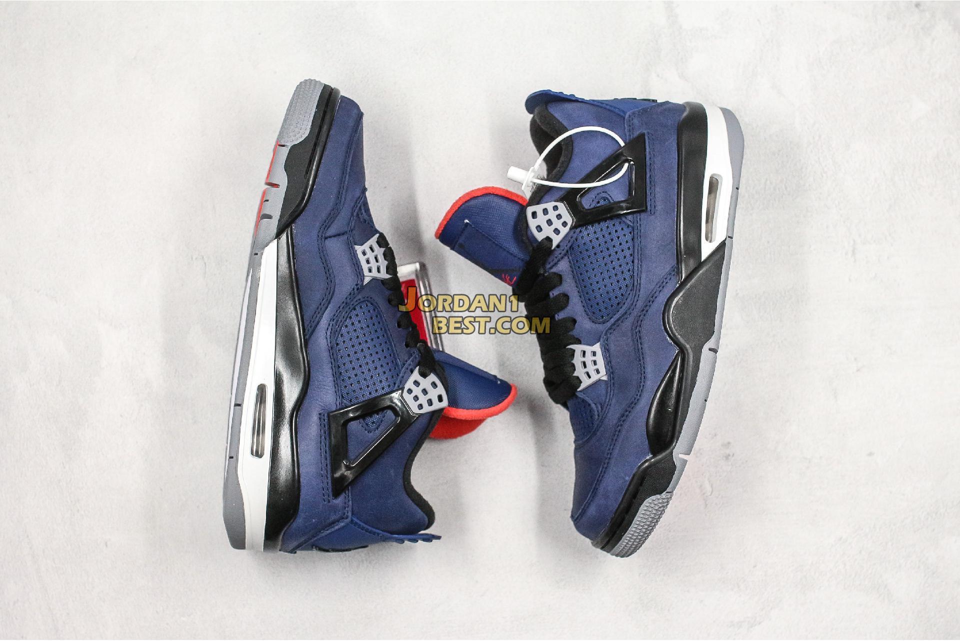 """Air Jordan 4 Winter """"Loyal Blue"""" CQ9597-401 Mens"""
