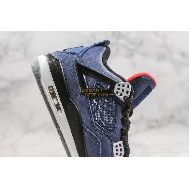 "new replicas Air Jordan 4 Winter ""Loyal Blue"" CQ9597-401 Mens loyal blue/white/habanero red/black Shoes"