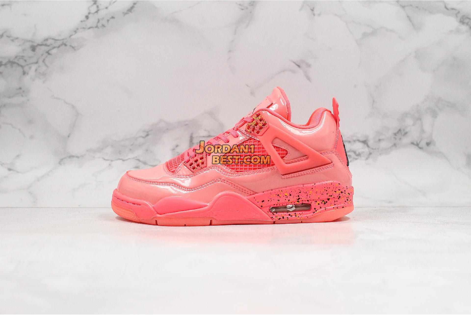 "Air Jordan 4 Retro NRG ""Hot Punch"" AQ9128-600 Mens Womens"