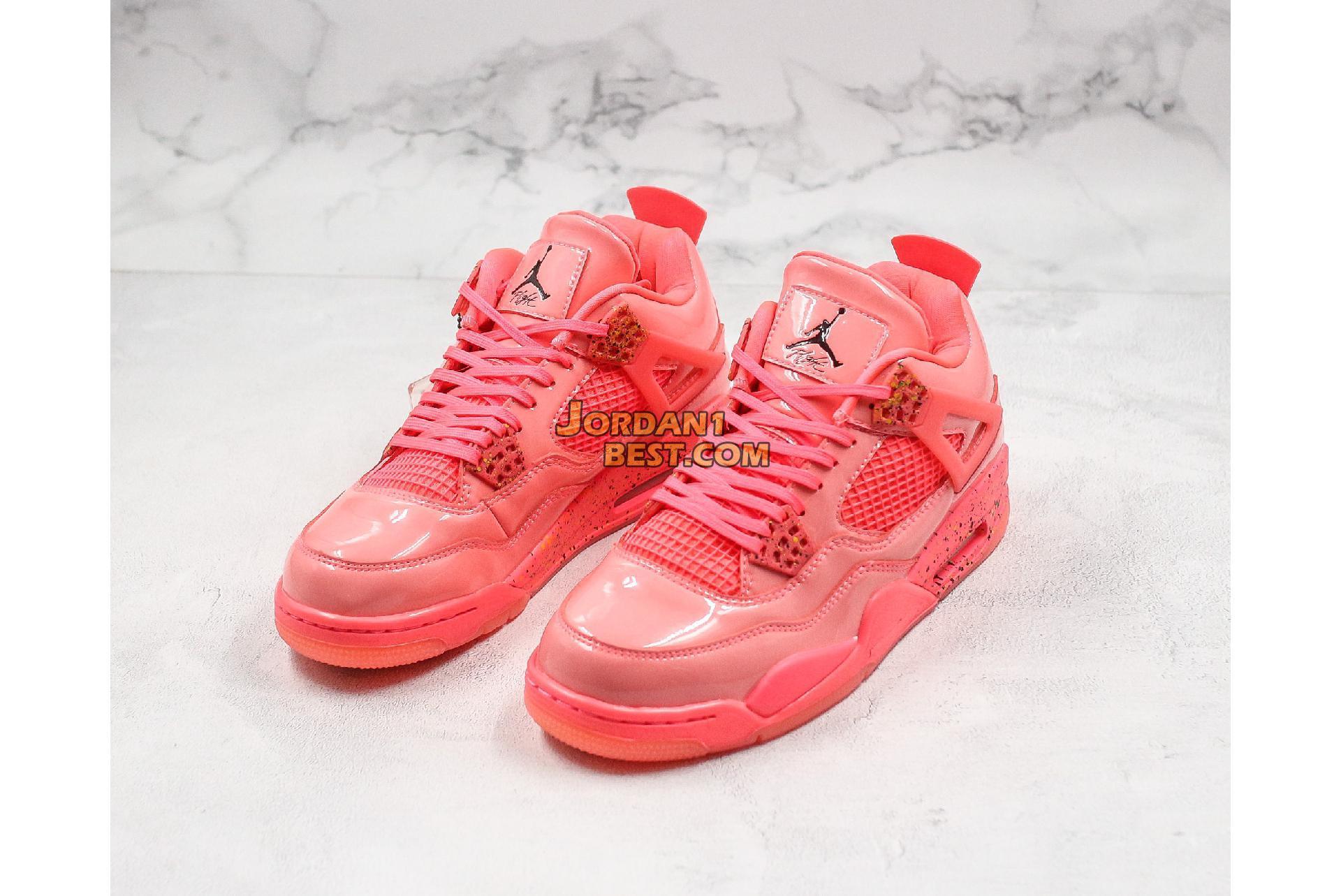 "Air Jordan 4 Retro NRG ""Hot Punch"" AQ9128-600 Mens Womens"
