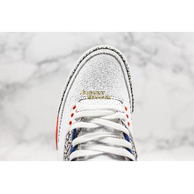 "top 3 fake Air Jordan 3 Retro ""Knicks"" 136064-148 Mens white/old royal-university orange-tech grey Shoes"