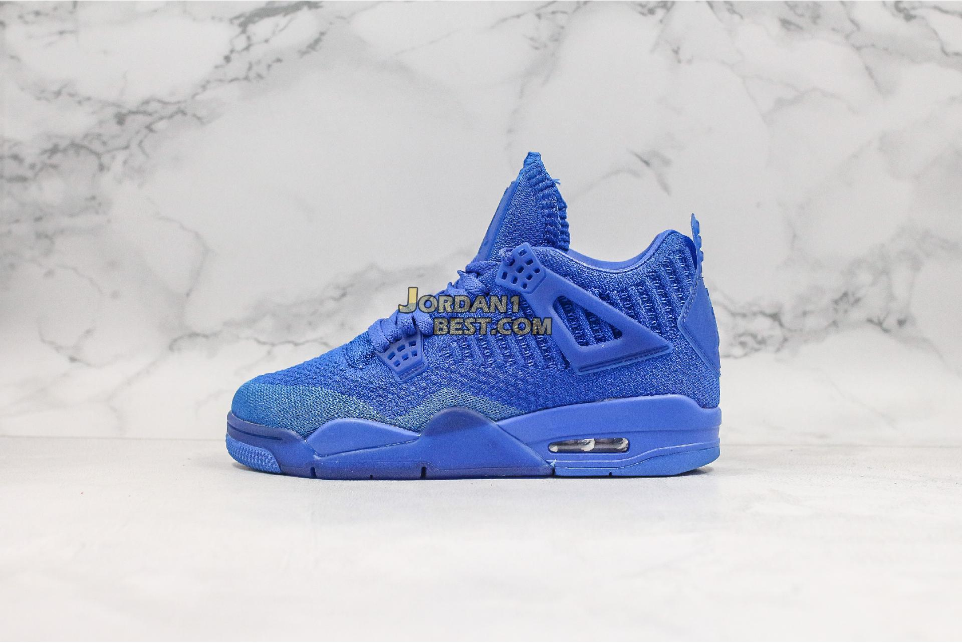 "Air Jordan 4 Flyknit ""Hyper Royal"" AQ3559-400 Mens Womens"