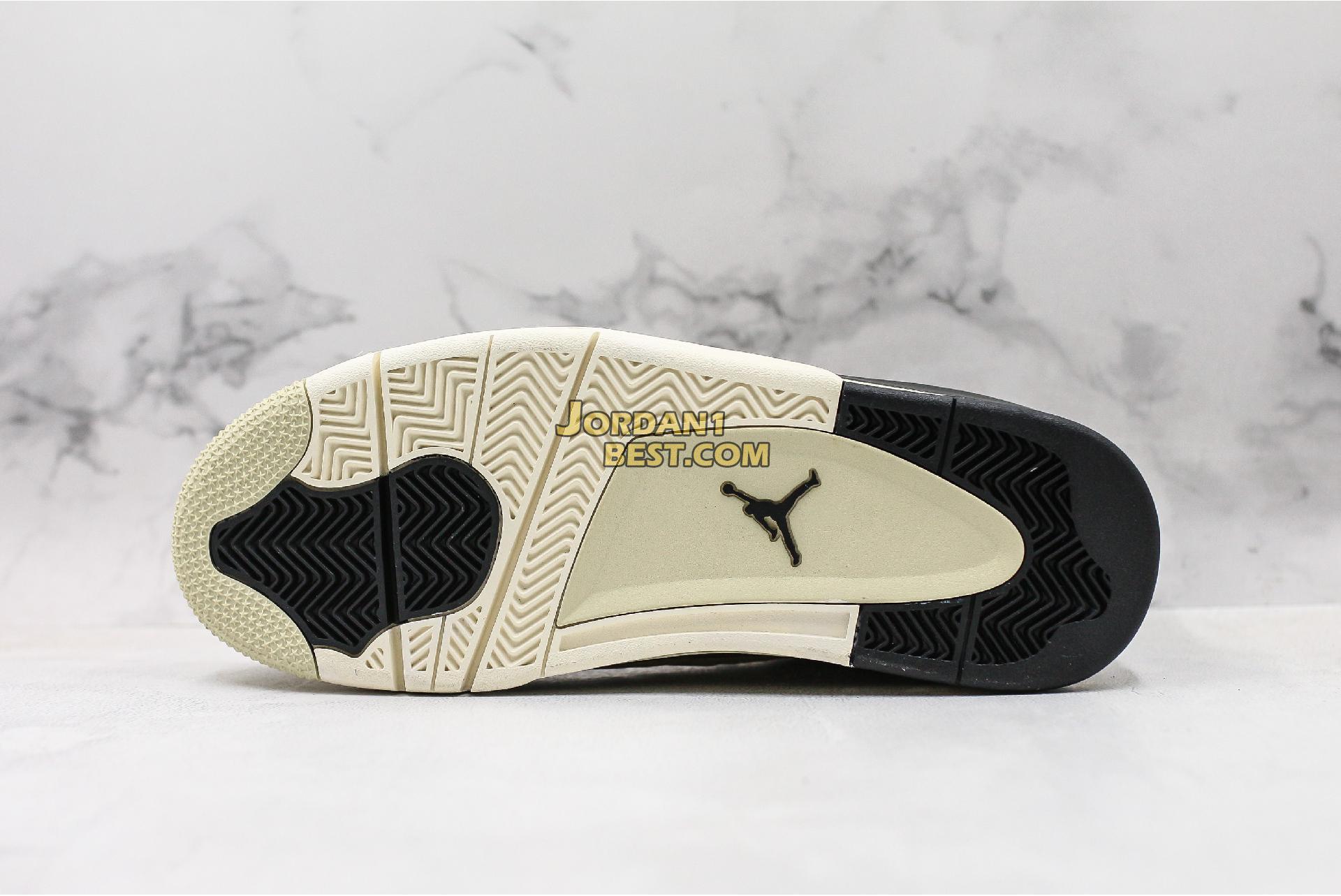 """Air Jordan 4 Retro """"Mushroom"""" AQ9129-200 Mens"""