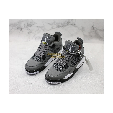 "fake 2019 Air Jordan 4 Retro ""Cool Grey"" 308497-007 Mens cool grey/chrome-dark charcoal Shoes"