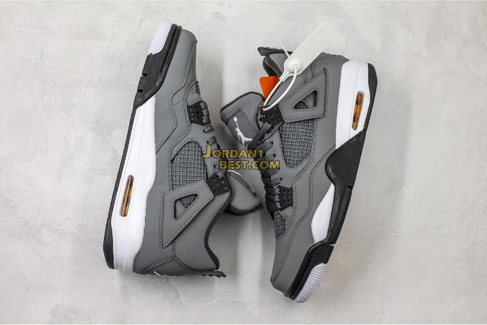 "2019 Air Jordan 4 Retro ""Cool Grey"" 308497-007 Mens"