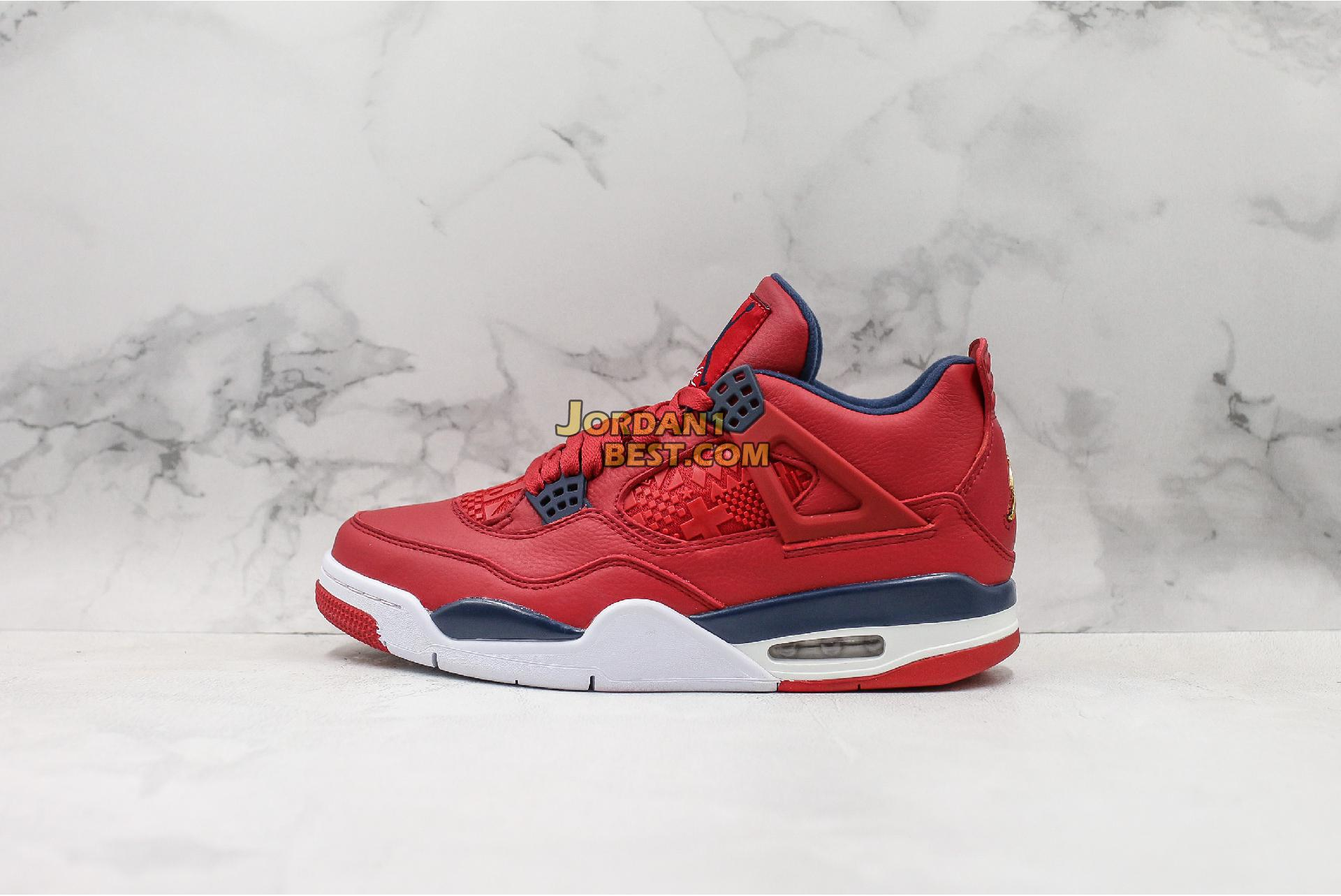 "Air Jordan 4 Retro ""FIBA"" CI1184-617 Mens"