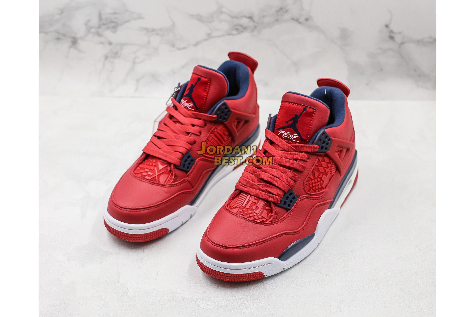 """Air Jordan 4 Retro """"FIBA"""" CI1184-617 Mens"""