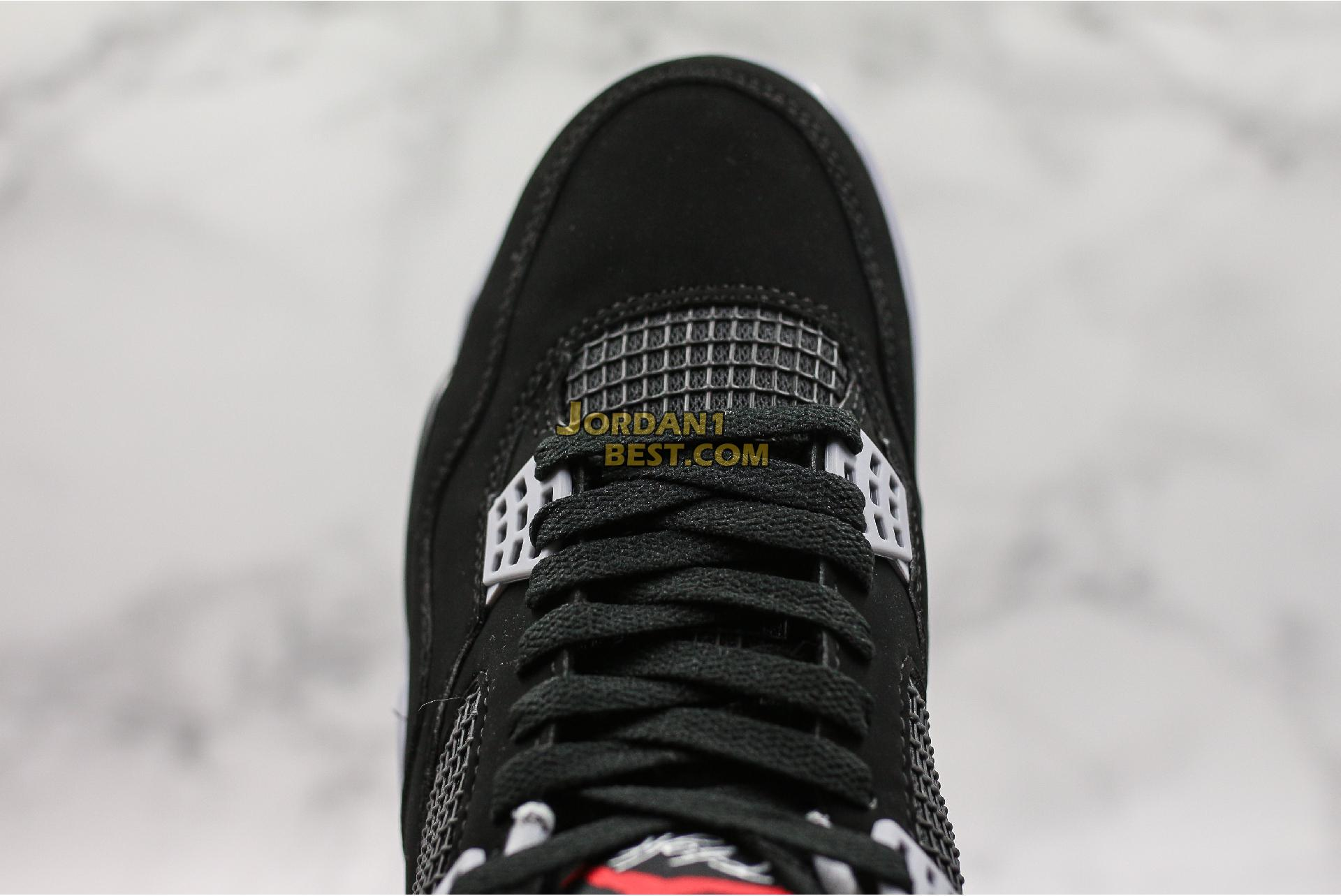 """2019 Air Jordan 4 Retro OG """"Bred"""" 308497-060 Mens"""