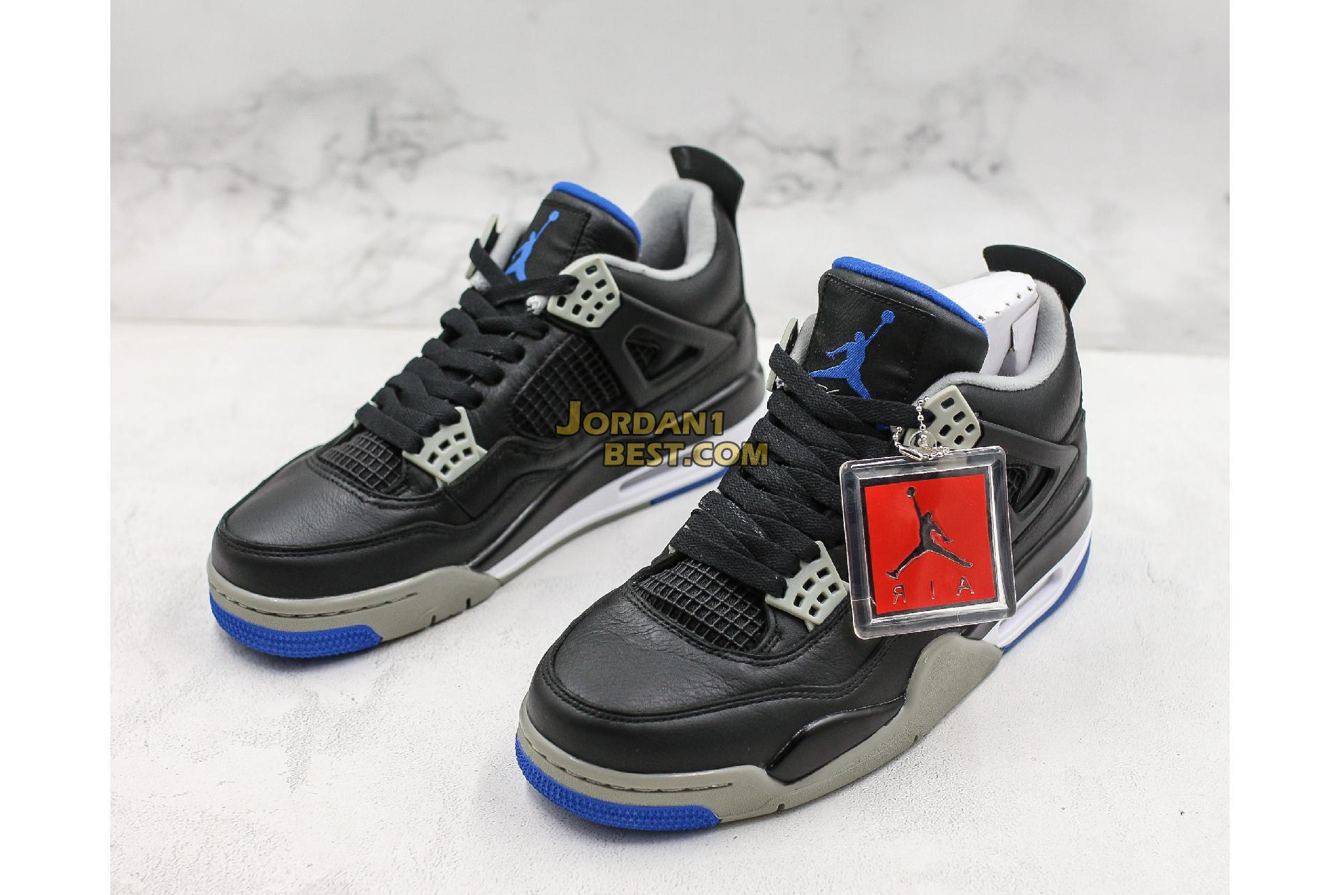 "Air Jordan 4 Retro ""Motorsports Alternate"" 308497-006 Mens"