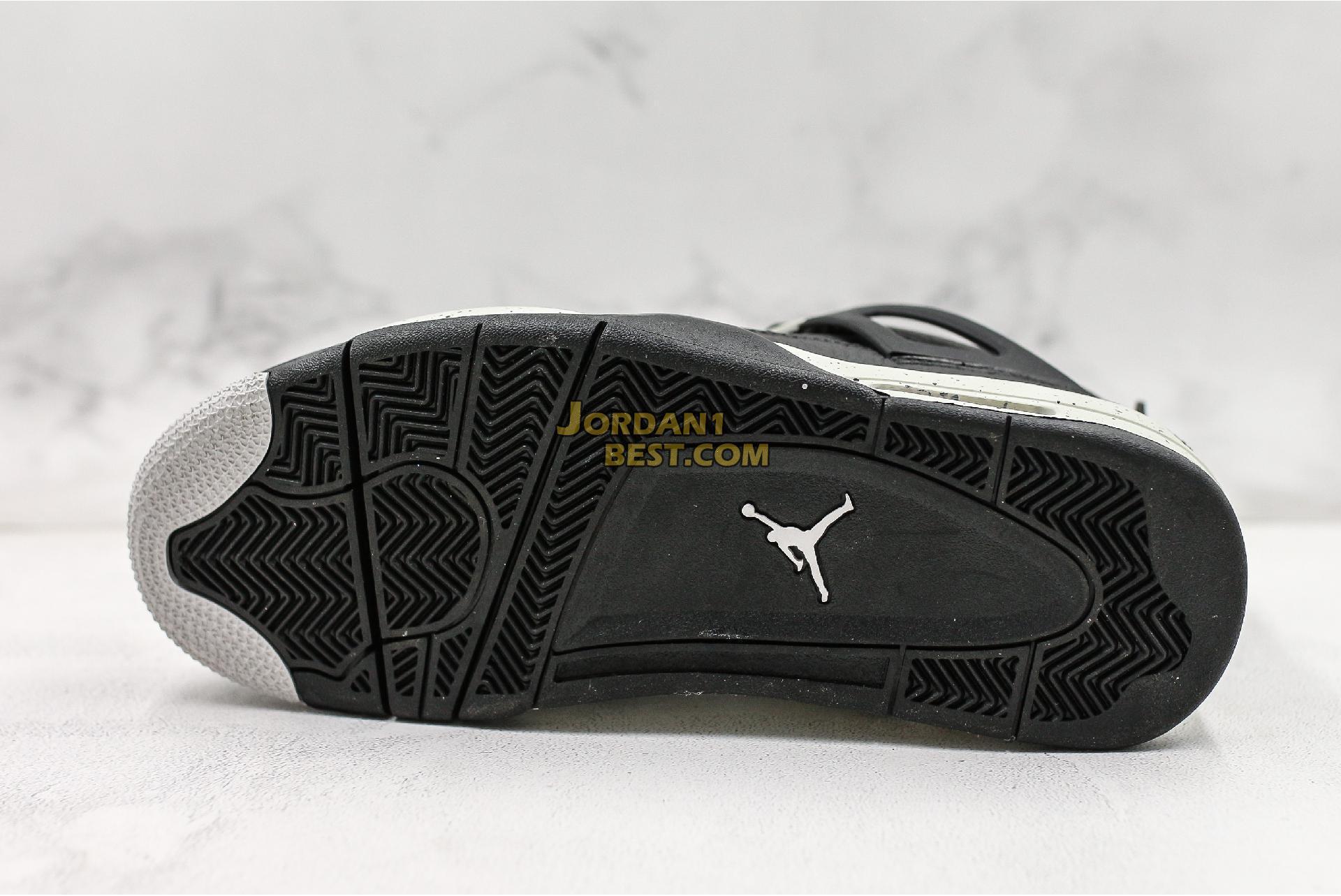 """Air Jordan 4 Retro LS """"Oreo"""" 314254-003 Mens"""