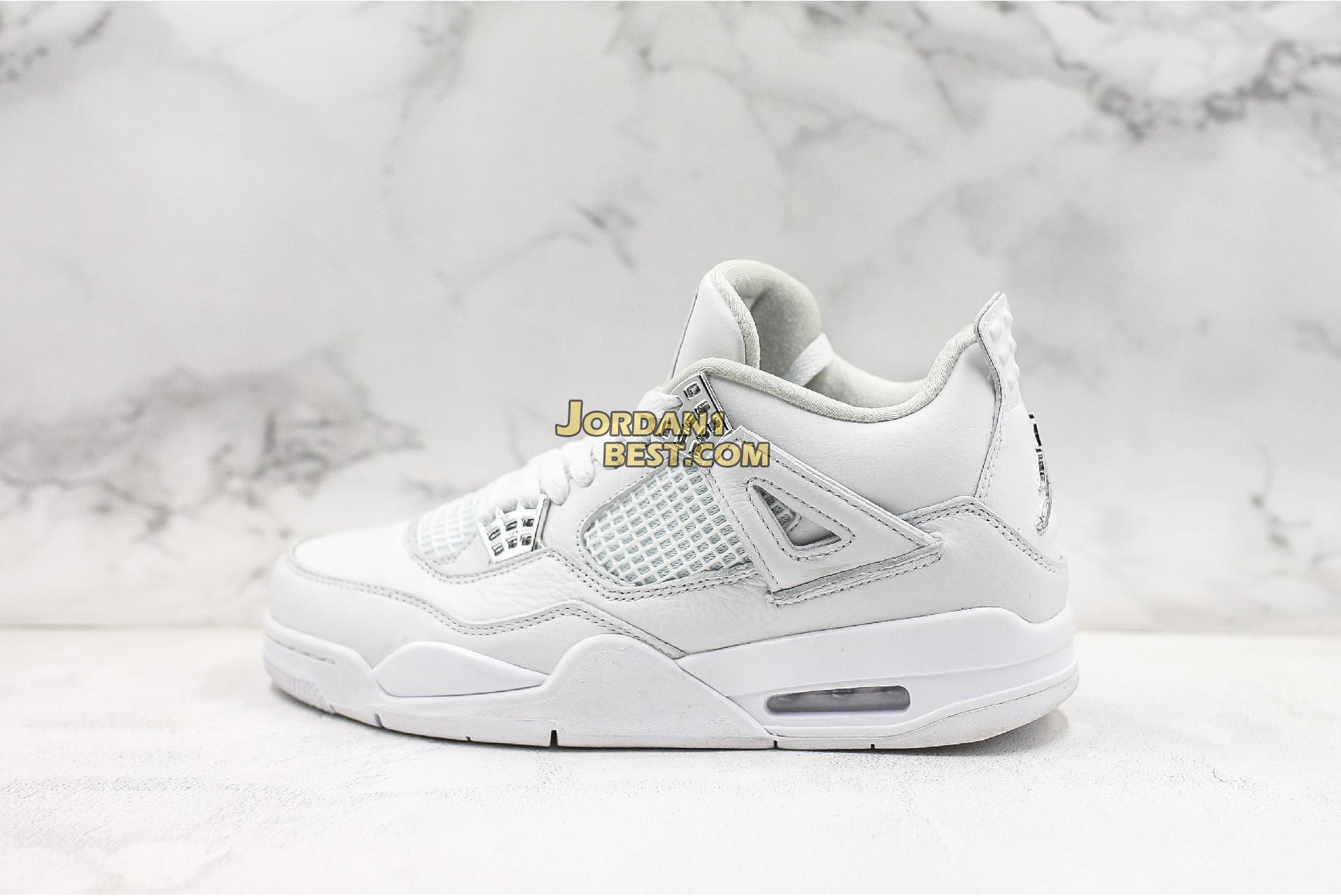 "Air Jordan 4 Retro ""Pure Money"" 308497-100 Mens"