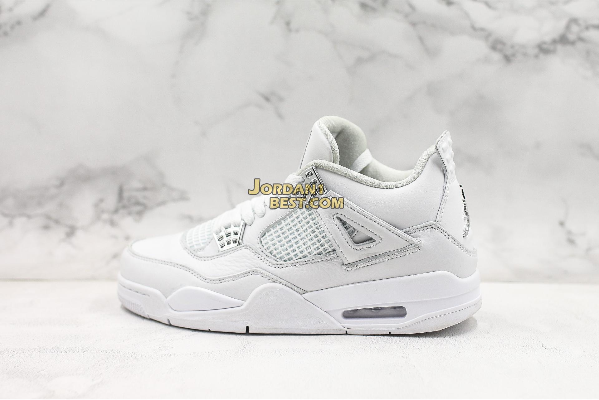 "Air Jordan 4 Retro ""Pure Money"" 308497-100 Mens"