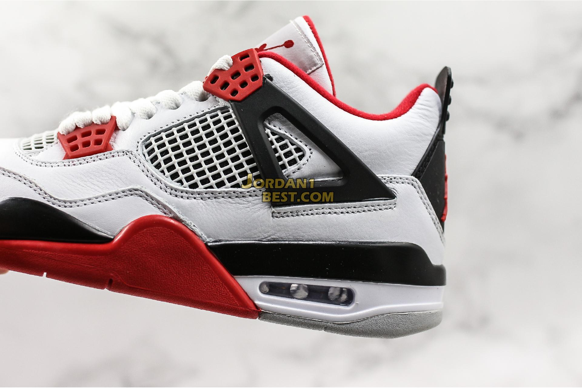 "Air Jordan 4 Retro ""Fire Red"" 2012 308497-110 Mens"
