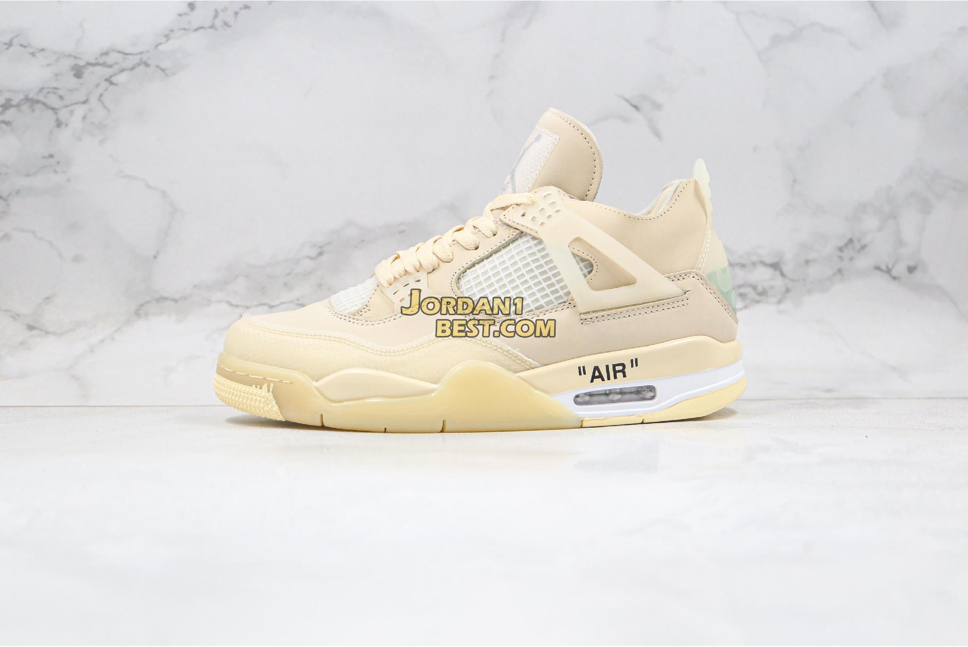 """Air Jordan 4 Retro NRG """"Raptors - Drake Signature"""" CV9388-100 Mens"""
