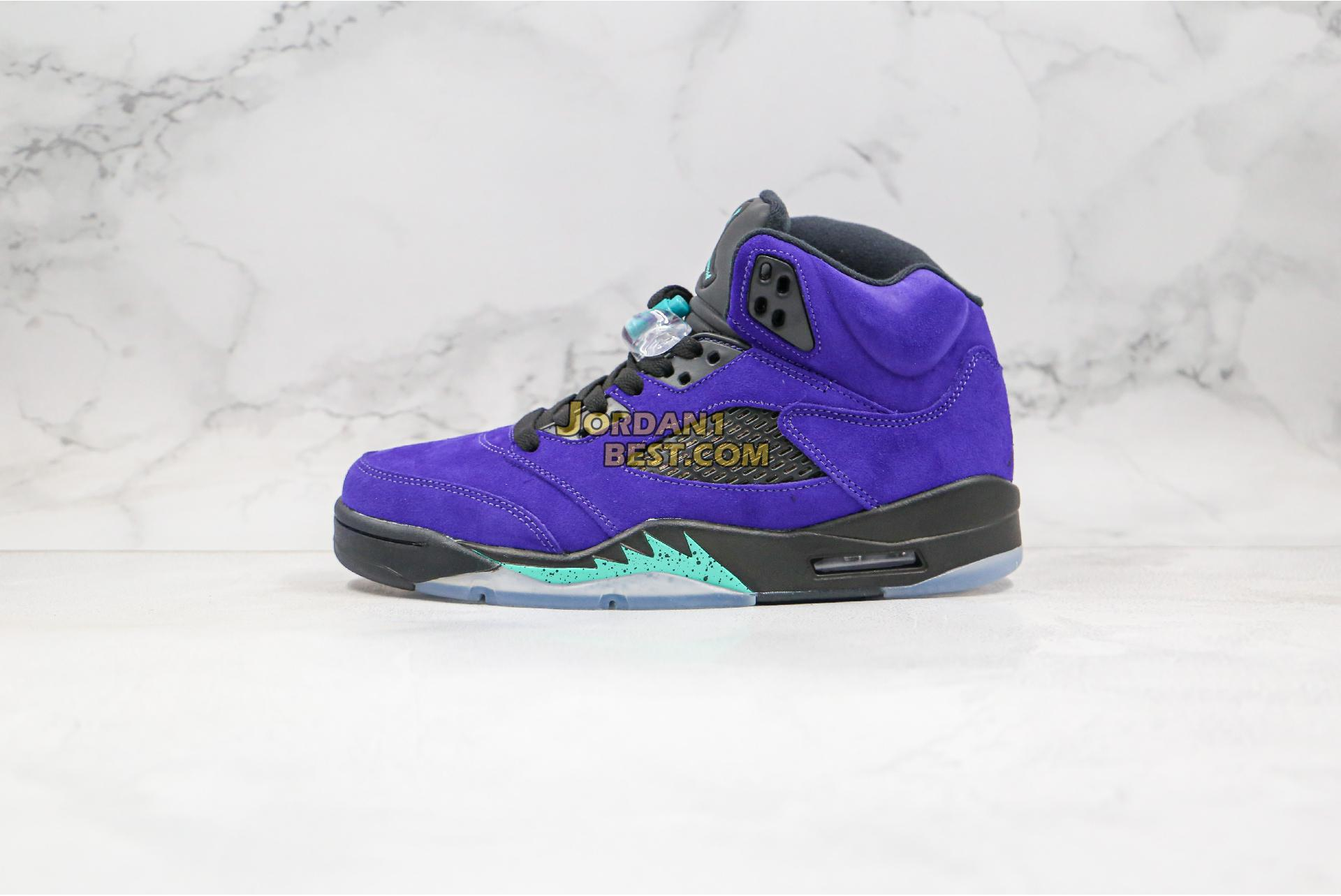 "Air Jordan 5 Retro ""Alternate Grape"" 136027-500 Mens Womens"