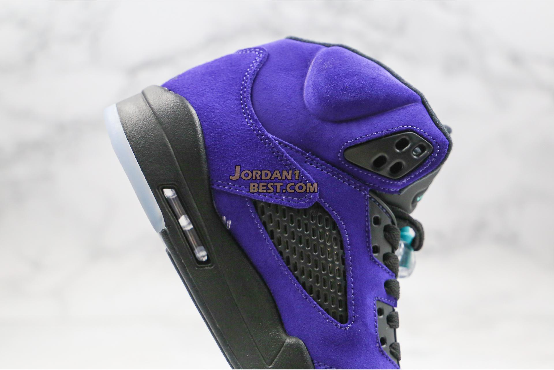 """Air Jordan 5 Retro """"Alternate Grape"""" 136027-500 Mens Womens"""
