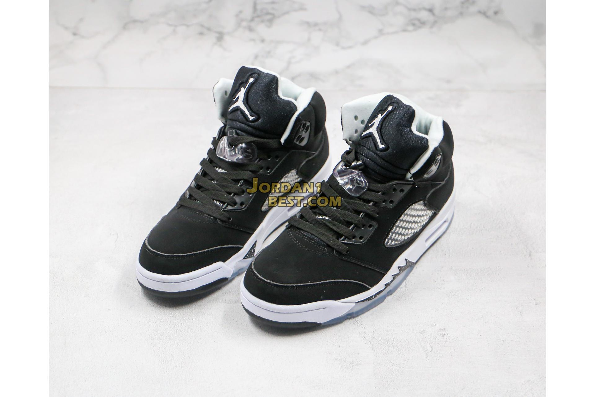 "Air Jordan 5 Retro ""Oreo"" 136027-035 Mens Womens"