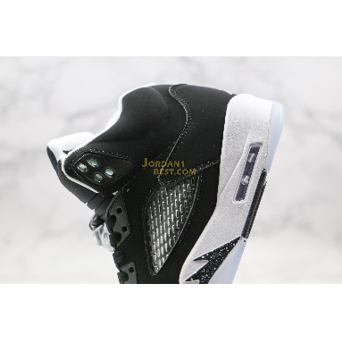 "AAA Quality Air Jordan 5 Retro ""Oreo"" 136027-035 Mens Womens black/cool grey-white Shoes"