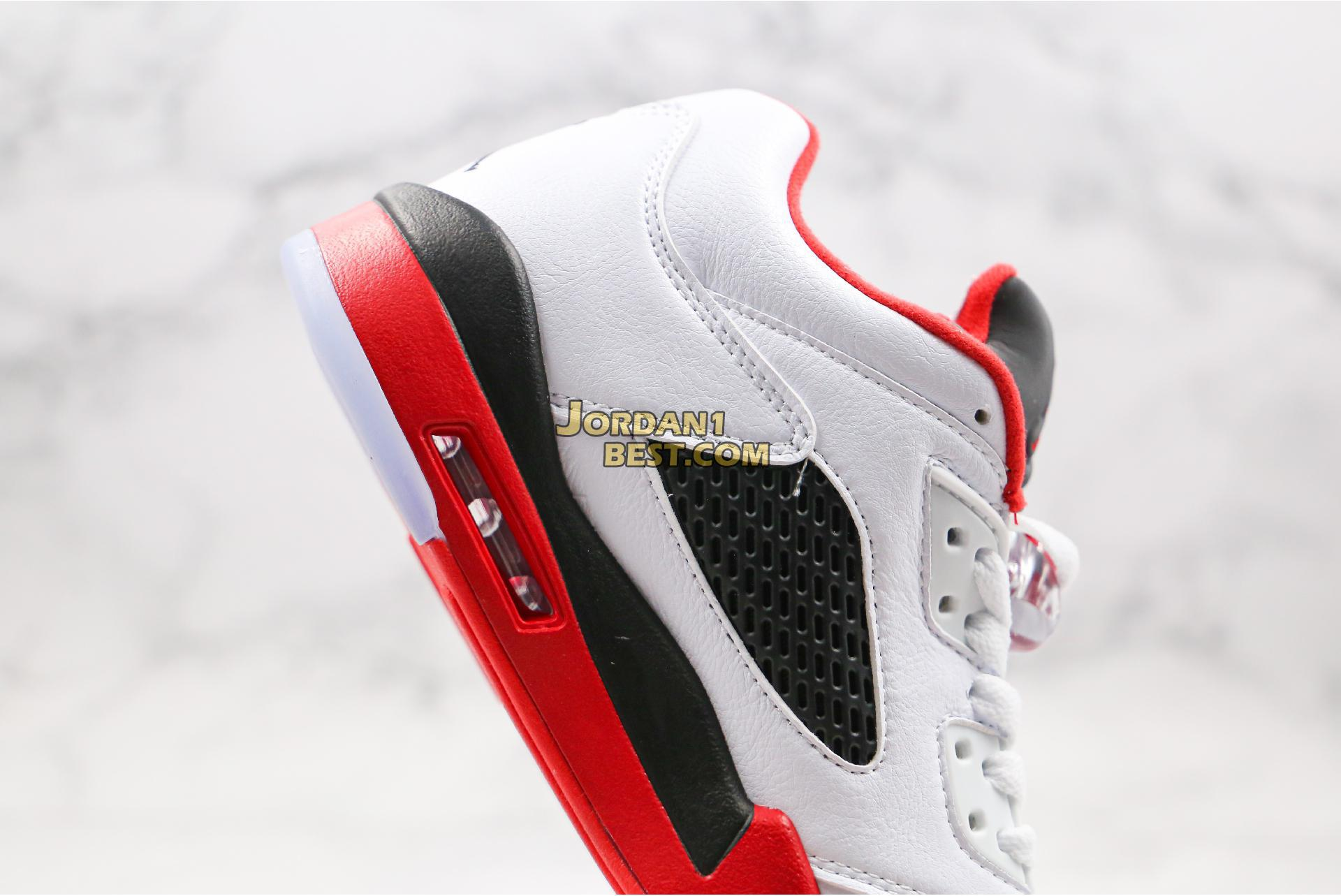 """Air Jordan 5 Retro Low GS """"Fire Red"""" 314338-101 Mens"""