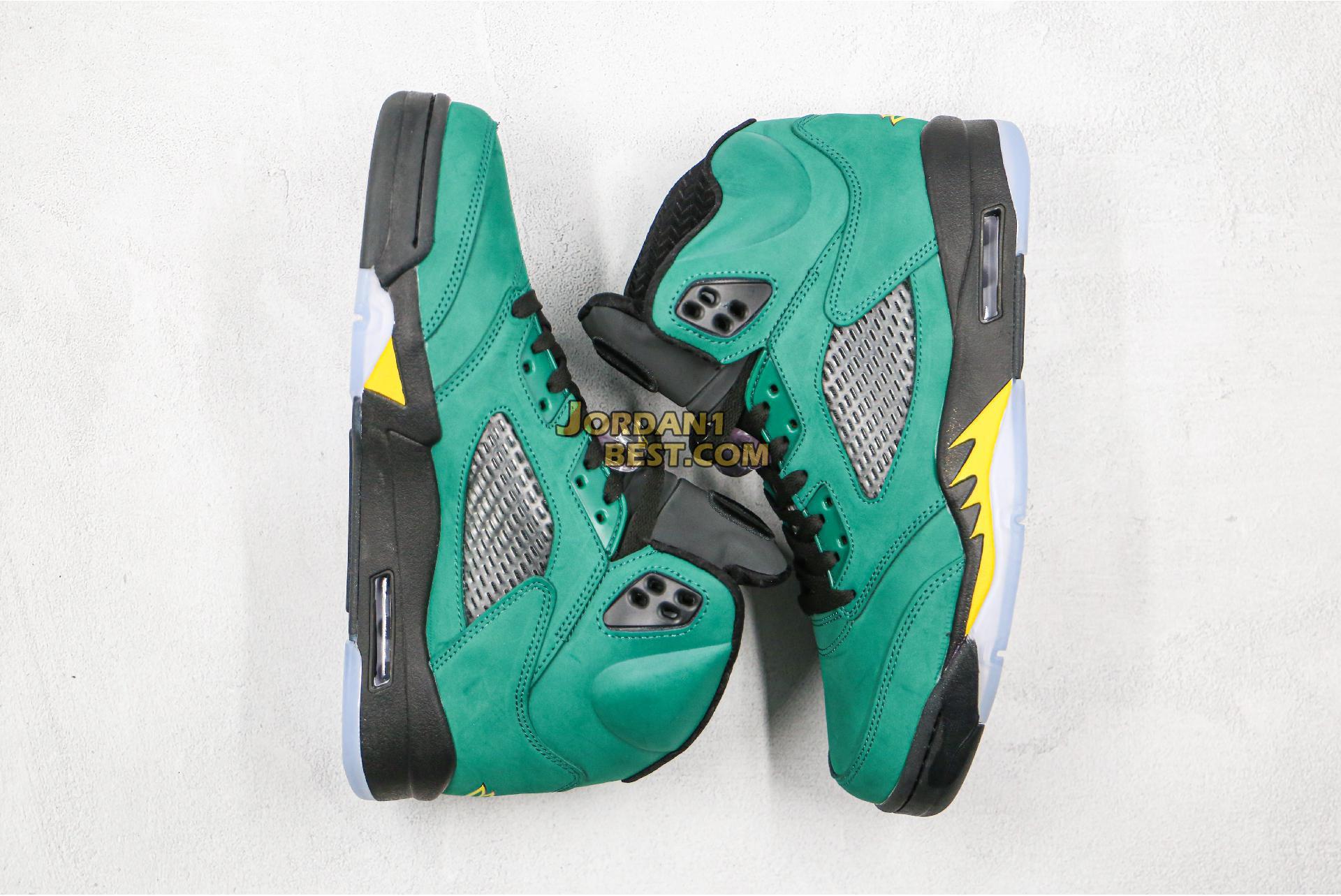 """Air Jordan 5 Retro """"Oregon Ducks"""" 454803-535 Mens Womens"""