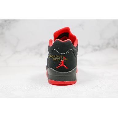 "top 3 fake Air Jordan 5 Retro Low ""Alternate 90"" 819171-001 Mens black/gym red-metallic hematite Shoes"