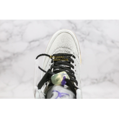 "best replicas Off-White x Air Jordan 5 ""Cicada Wing"" CT8480-105 Mens smoky gray/white/green Shoes"