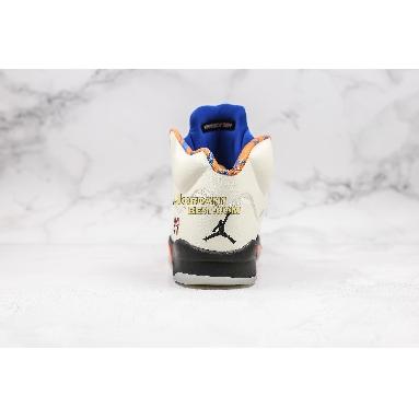 "AAA Quality Air Jordan 5 Retro ""International Flight"" 136027-148 Mens sail/orange peel-black-hyper royal Shoes"