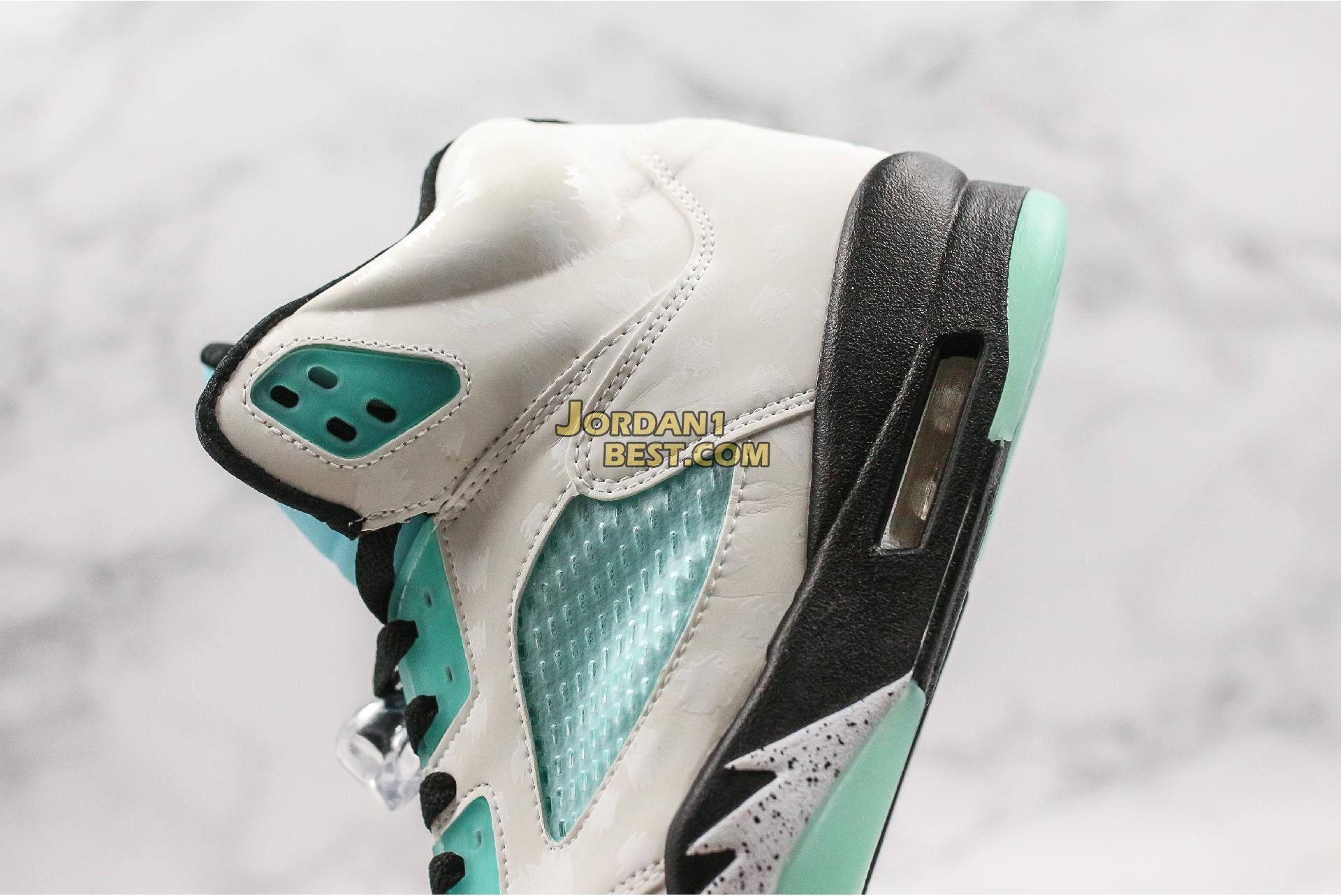 "Air Jordan 5 Retro ""Island Green"" CN2932-100 Mens Womens"