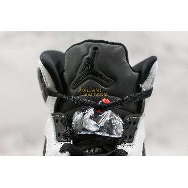 "AAA Quality Paris Saint-Germain x Air Jordan 5 Retro ""Friends & Family"" FA18-MNJDLS-735 Mens white/black-black-challenge red Shoes"