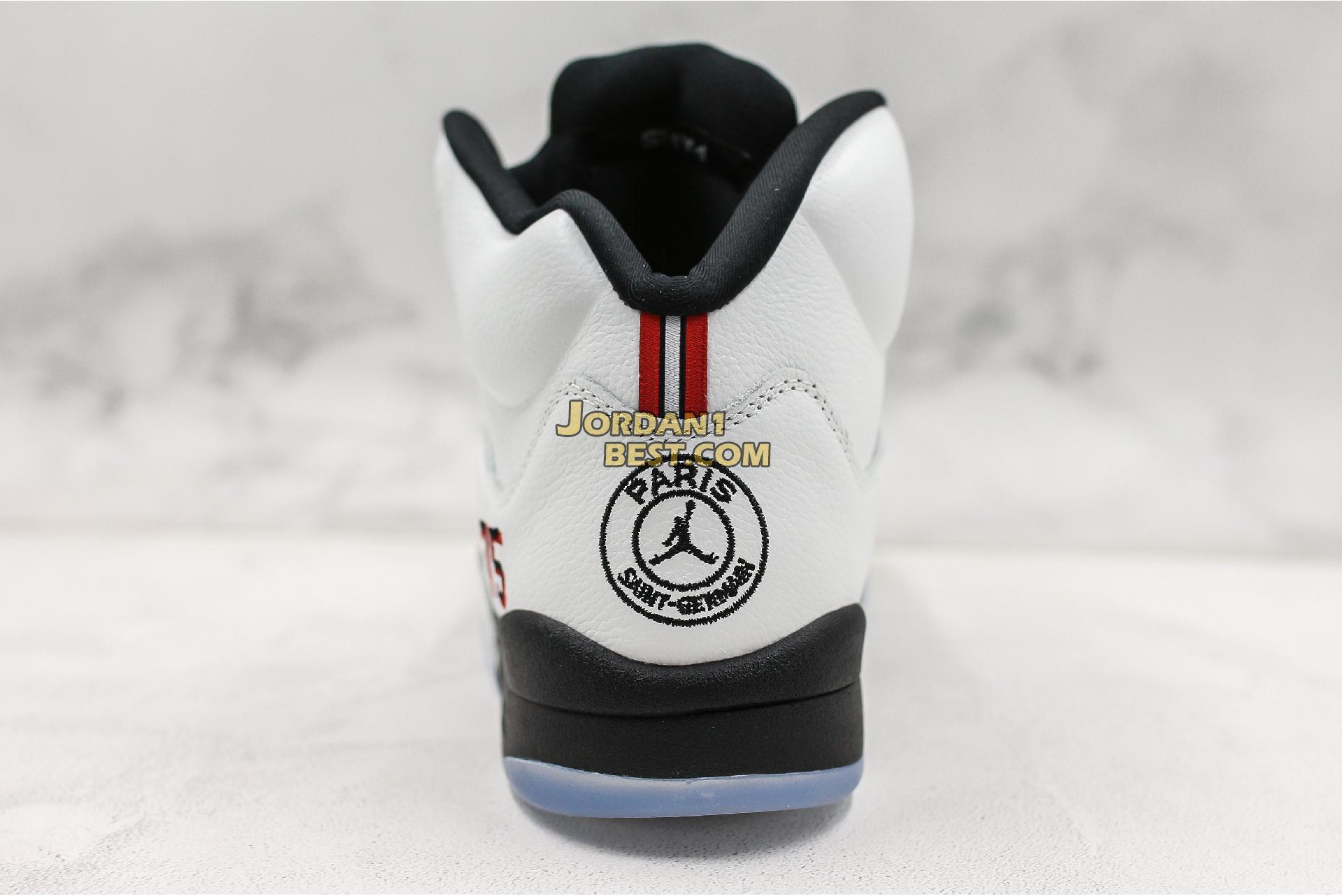 """Paris Saint-Germain x Air Jordan 5 Retro """"Friends & Family"""" FA18-MNJDLS-735 Mens"""