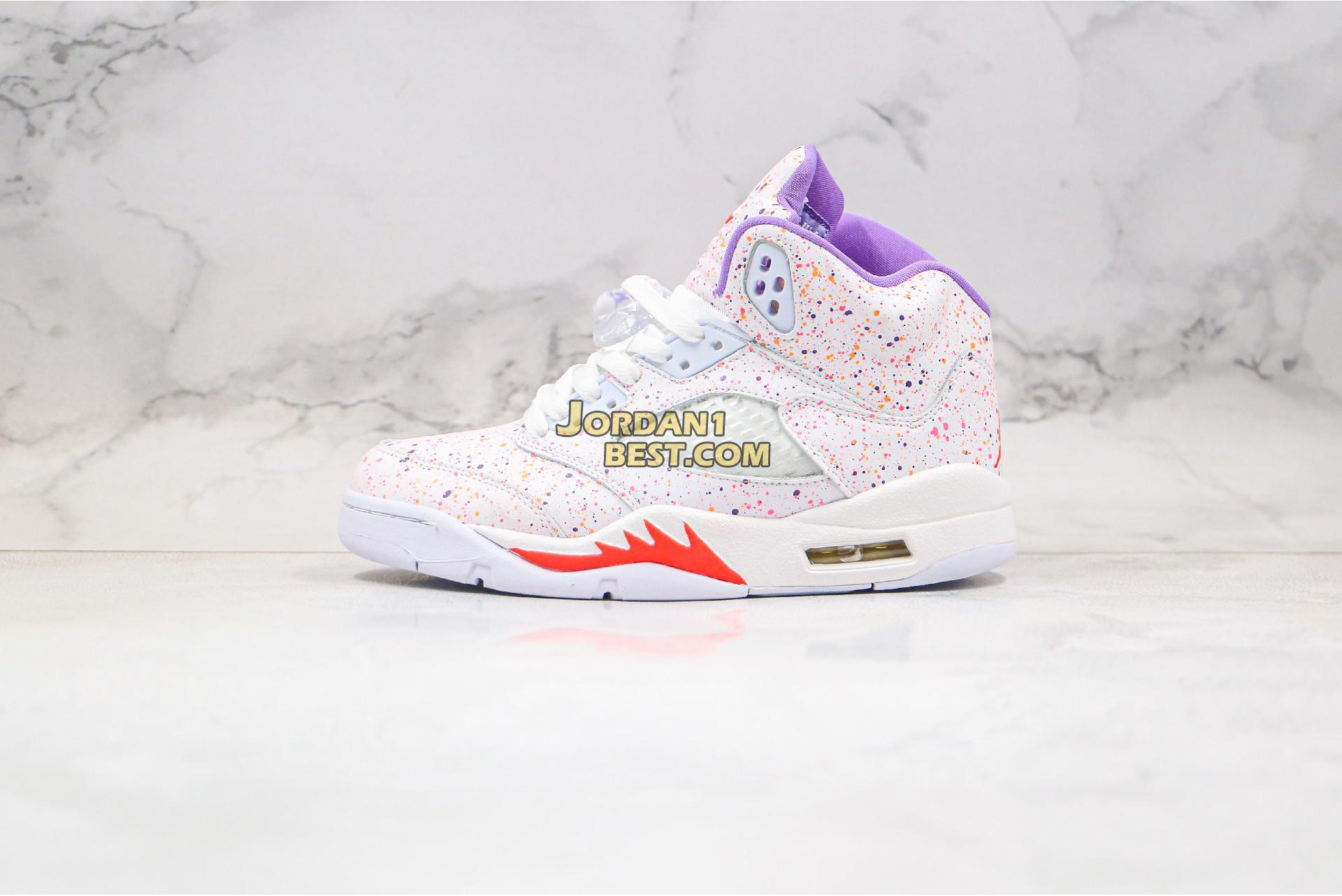 "Air Jordan 5 Retro GG ""Easter"" CT1605-100 Womens"