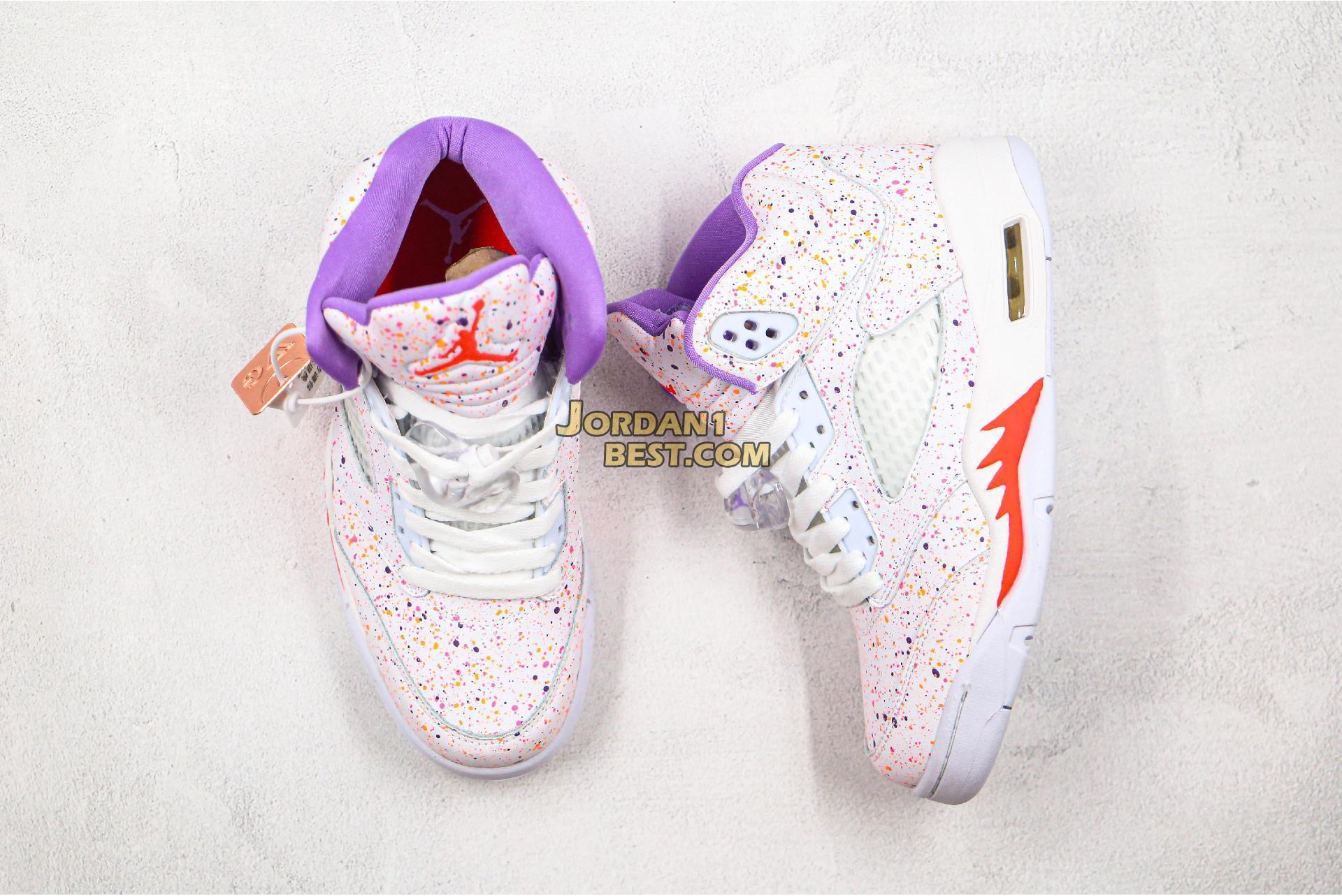 """Air Jordan 5 Retro GG """"Easter"""" CT1605-100 Womens"""