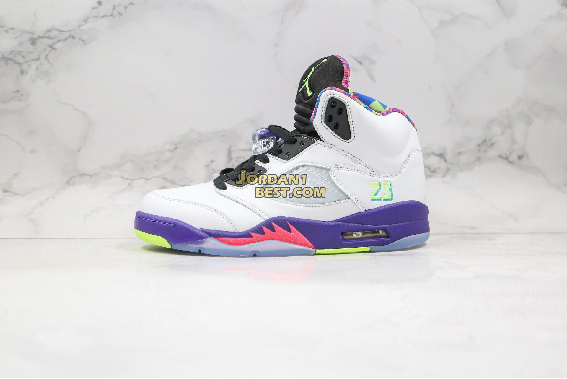 "Air Jordan 5 Retro ""Alternate Bel-Air"" DB3335-100 Mens"
