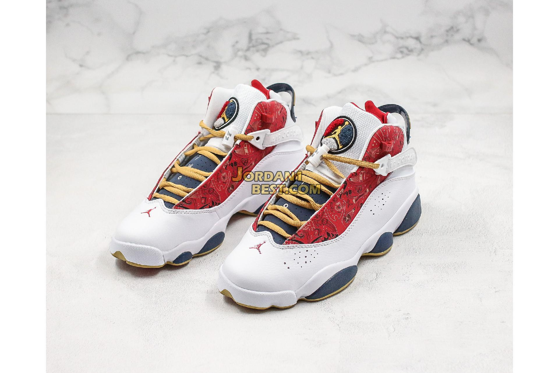 """Air Jordan 6 Rings """"Championship Pack"""" 322992-163 Mens Womens"""