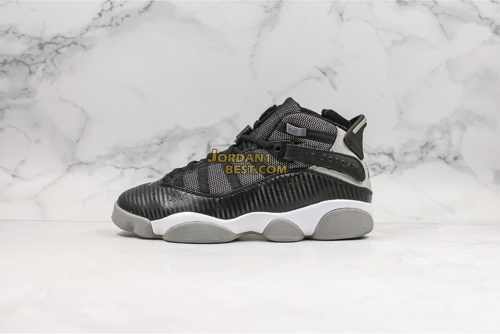 """Air Jordan 6 Rings """"Carbon Fiber"""" 322992-004 Mens"""